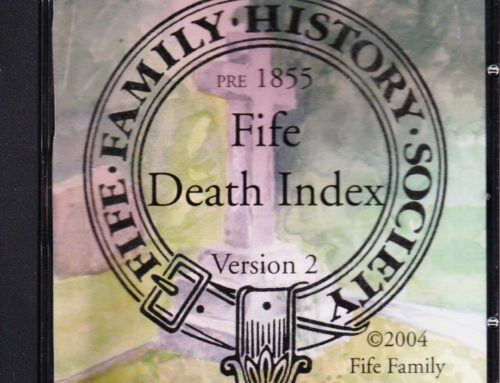 Fife Death Index on Find My Past